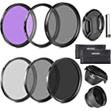 Neewer 52MM Must Have Lens Filter Accessory Kit for NIKON D7100 D7000 D5200 D5100 D5000 D3300 D3200 D3100 D3000 D90 D80…