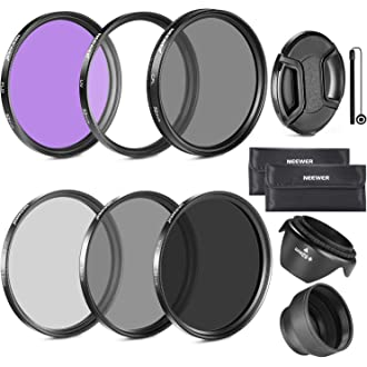 SAUJNN MC CPL UV ND Camera Lens Filter for 3 4 Professional 4K HD Z09 Drop Ship