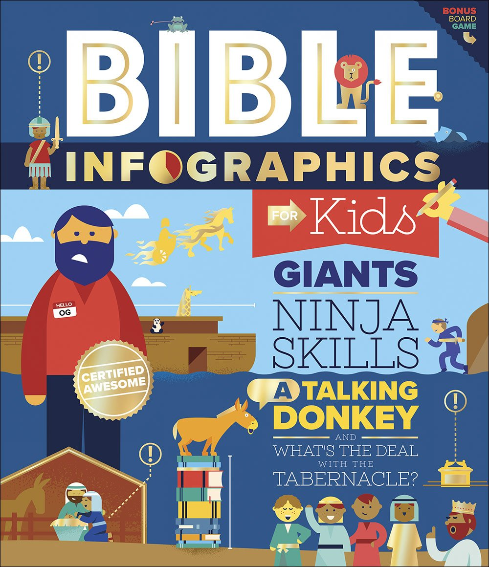 Bible Infographics for Kids: Giants, Ninja Skills, a Talking ...