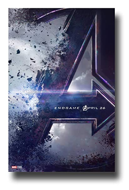 Amazon Com Avengers End Game Poster Movie Promo 11 X 17 Inches