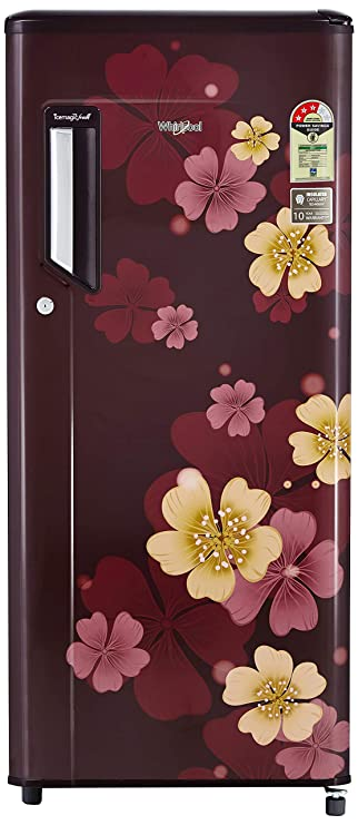Whirlpool 215 L 3 Star   2019   Direct Cool Single Door Refrigerator  230 IMFRESH PRM 3S, Wine Iris  Refrigerators