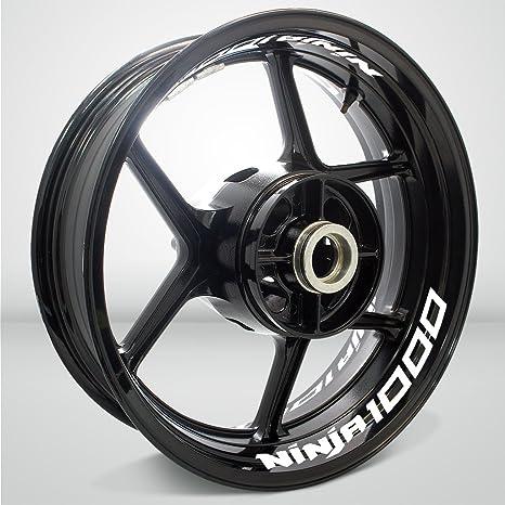 Amazon.com: Gloss White Motorcycle Inner Rim Tape Sticker ...