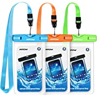 Mpow Waterproof Case Universal IPX8 Phone Pouch for iPhone & Samsung Galaxy