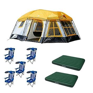 Amazon.com: Tahoe Gear - Tienda de campaña + silla de césped ...