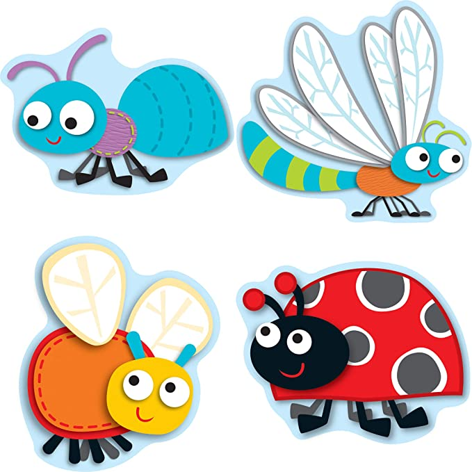 Buggy For Bugs Cut Outs Books Office Products Amazon Com