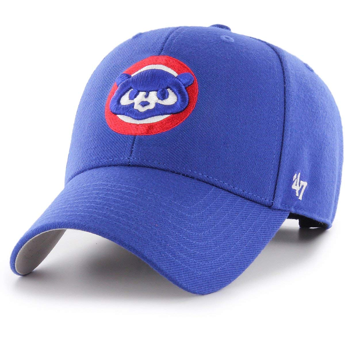 '47 Brand Chicago Cubs Cooperstown MVP Adjustable MLB Cap Blue One Size