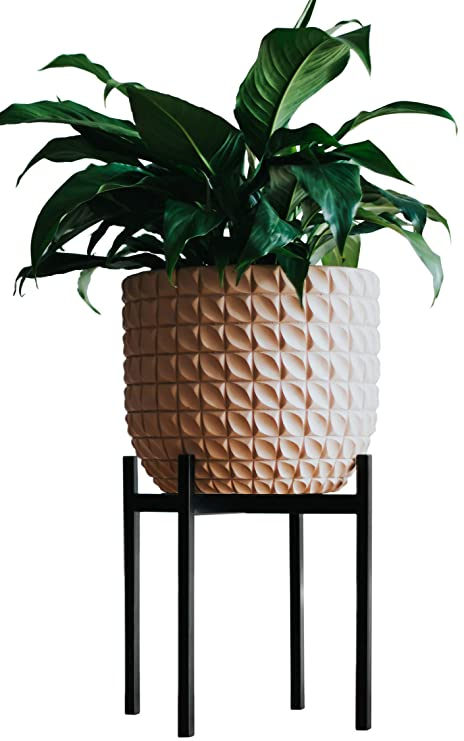 Stylish Plant Stand (Ebony) | Indoor Outdoor Flower Pot Stands | Planter Stand for House Garden ...  sc 1 st  Amazon UK & Stylish Plant Stand (Ebony) | Indoor Outdoor Flower Pot Stands ...