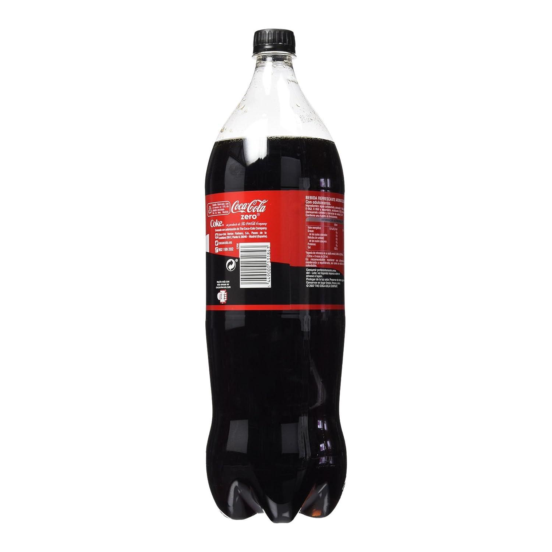 Coca-Cola - Zero, Botella de Plástico 2 L: Amazon.es: Alimentación y bebidas
