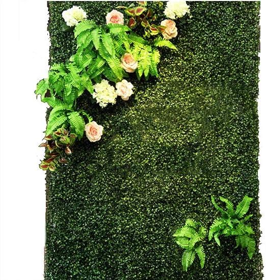 YNFNGXU Seto Artificial con imitación Floral Verde Pantalla de ...