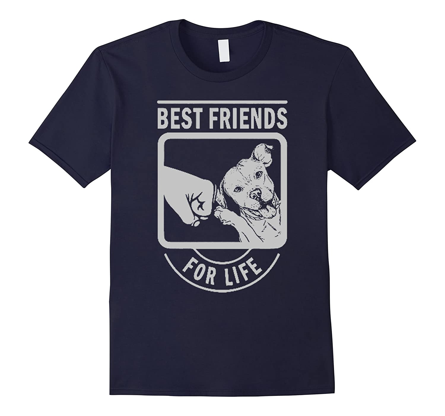 Pitbull Best Friends For Life Shirt