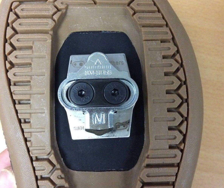 シマノSPDマウンテンペダル+クランクブロスシューズシールド+ウェッジ用グッドバイブレーション脚長クリートスペーサー 4mm spacers+Shoe Shield+Wedge ブラック B07LFN46VZ