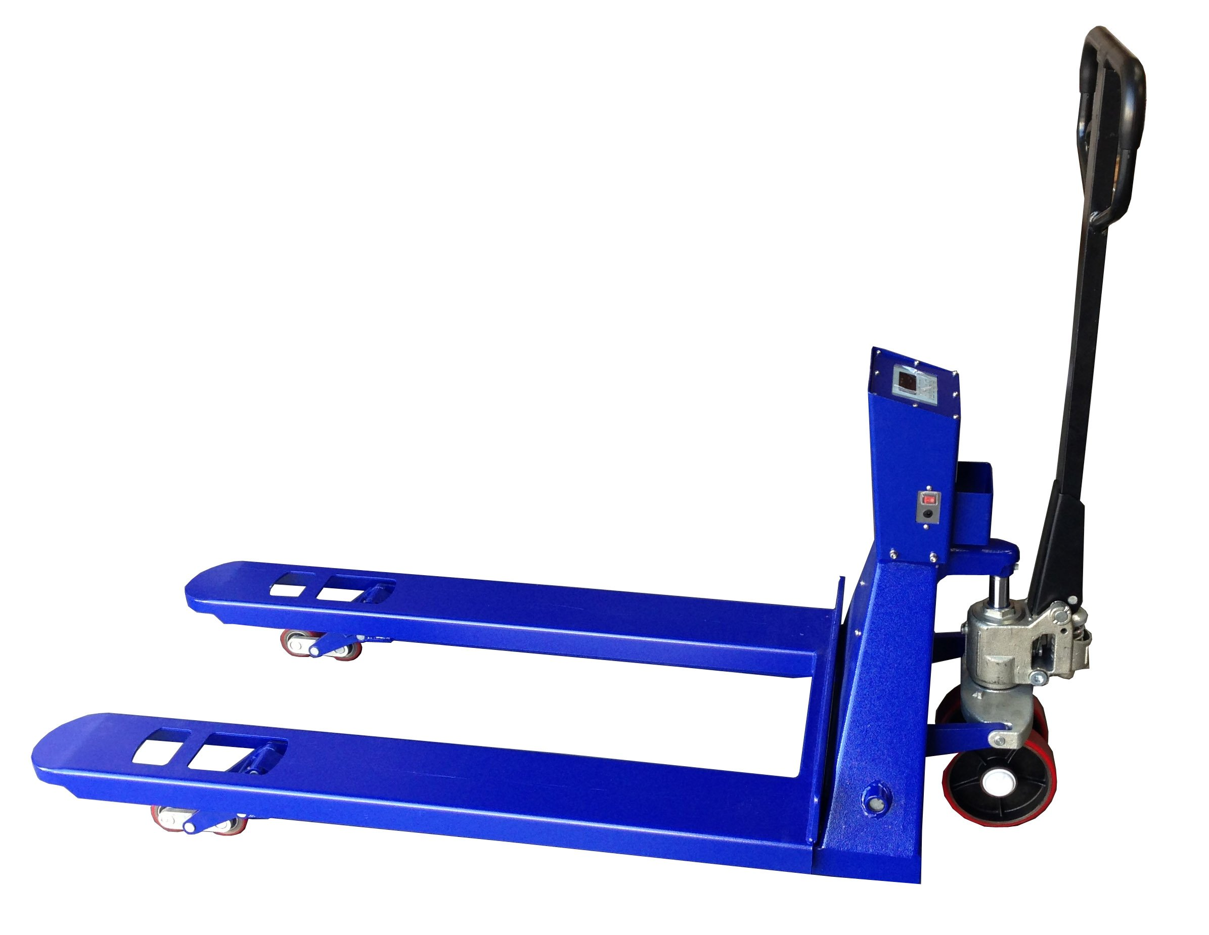 SAGA Pallet Jack Scale With Printer 6600lb x 1lb, Pallet Jack With Digital Scale Built Thermal Printer, Brand New Pallet Truck Scale by SAGA