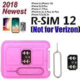 Eyetwins RSIM12 RSIM 12 SIM Unlocking Base GSM for Apple iPhoneX 8 7+ 7 6S+ 6S 6 SE (Not Compatible CDMA like Verizon)