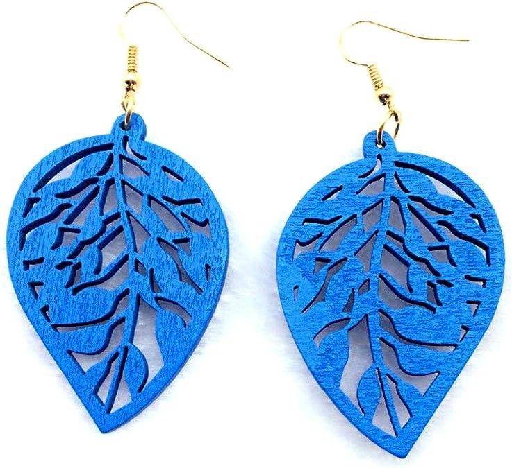 Leaf Jewelry Carved Maple Earrings Poppy Jasper Leaf Leaf Necklace Leaf Drop Earring A311 Leaf Gemstone Bead Gift Leaf Earring
