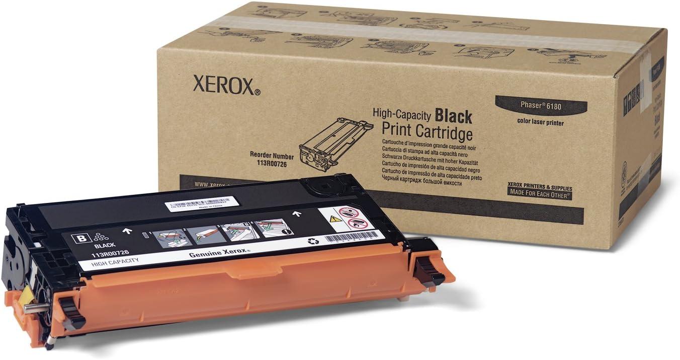 Xerox 113R00726 Toner Cartridge Black,1-Pack in Retail Packaging