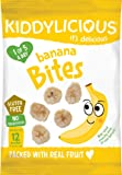 Kiddylicious Banana Bites 15g (Pack of 8)