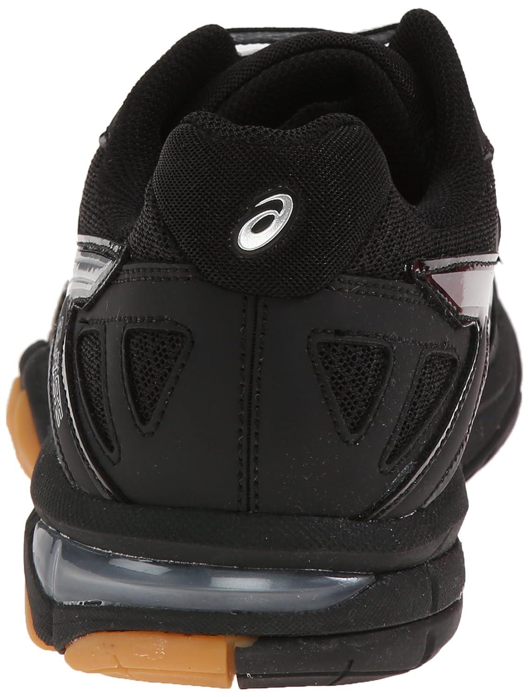 ASICS Women's Gel Tactic B(M) Volleyball Shoe B00Q2JNQOA 8 B(M) Tactic US|Black/Silver d83357