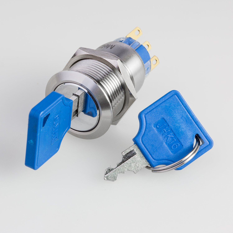 Metzler-Trade Schlüsselschalter mit zwei Positionen aus V2A ...