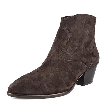 8d9653d083 ASH Footwear Heidi Bis Braun Wildleder Stiefel - Damen: Amazon.de ...