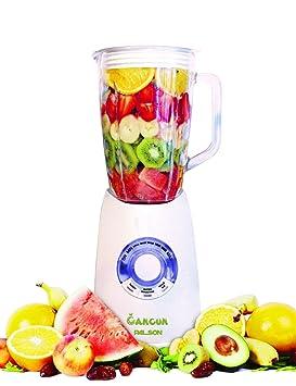 Palson Cancún - Batidora de vaso, 1250W, 1,5 litros, color blanco: Amazon.es: Hogar