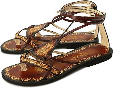 Calpas Handmade Hippie Boho Sandals