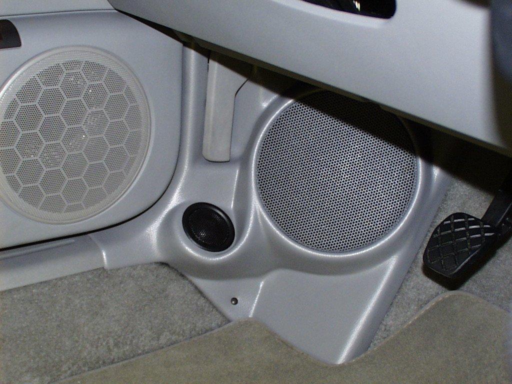 Q Logic Q Forms Kick Panel Enclosures for Volkswagen / Beetle