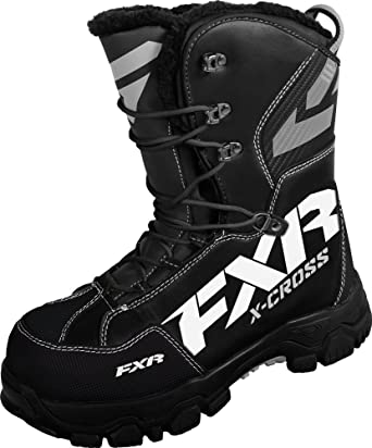 X Cross Black Boot - Men's Size 9