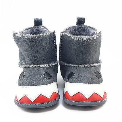 autumnfall invierno suave Sole Prewalker zapatos para niños bebé ...