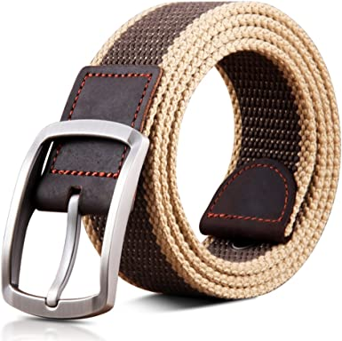JIEJING Mens Decoration Belt,Pin Buckles Business Belt Leisure Wild Youth Belt