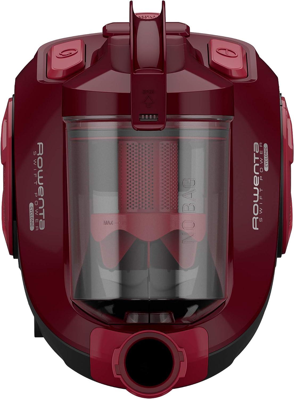 Aspiradora Rowenta Compact Power RO3786 750 W, A, 28 kWh, Aspiradora cil/índrica, Sin Bolsa, 1,5 L