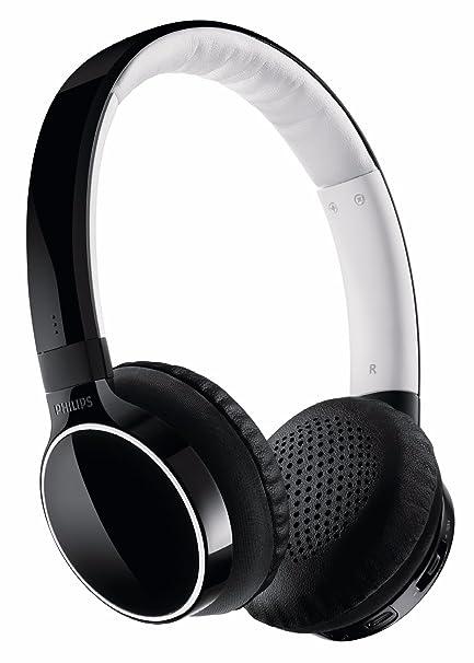 Philips HB9100 - Auriculares de diadema abiertos Bluetooth, Negro