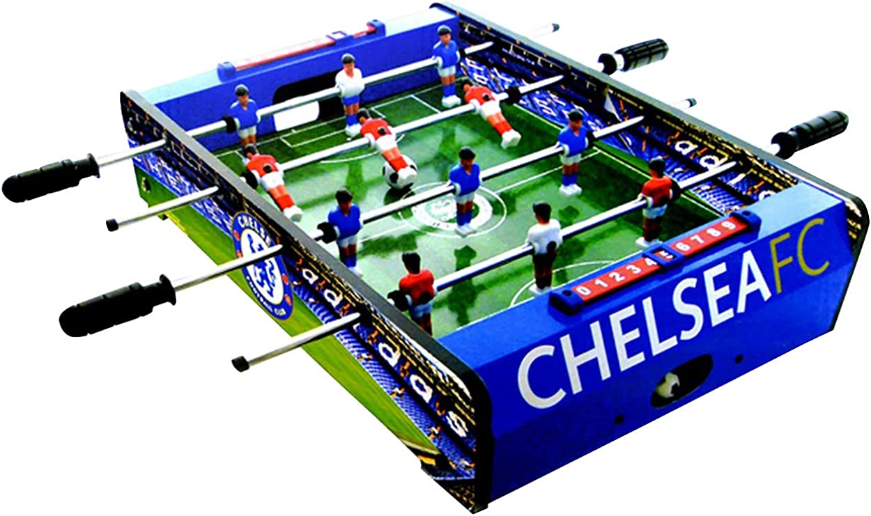 Chelsea FC Official Table Top Football Game (One Size) (Blue): Amazon.es: Ropa y accesorios