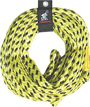 Airhead 2-Section Tow Ropes1-4 Rider Ropes for Towable Tubes