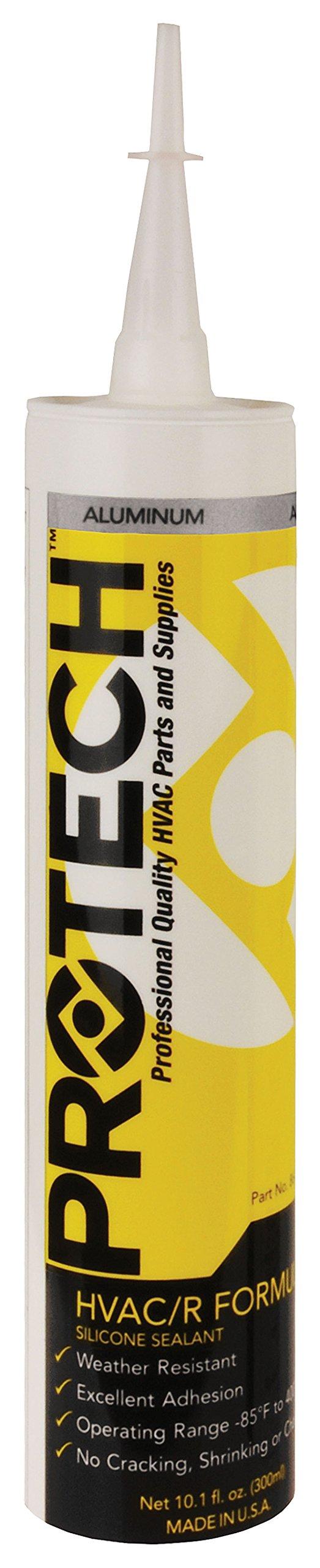 Rheem 370 HVAC/R Silicone - Aluminum (10.1 oz. tube) #86-370A (pack of 12 items) by Rheem