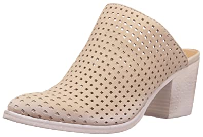 e885c7f76311 Dolce Vita Women s Kelso Mule Sand Perforated Nubuck 6.5 ...