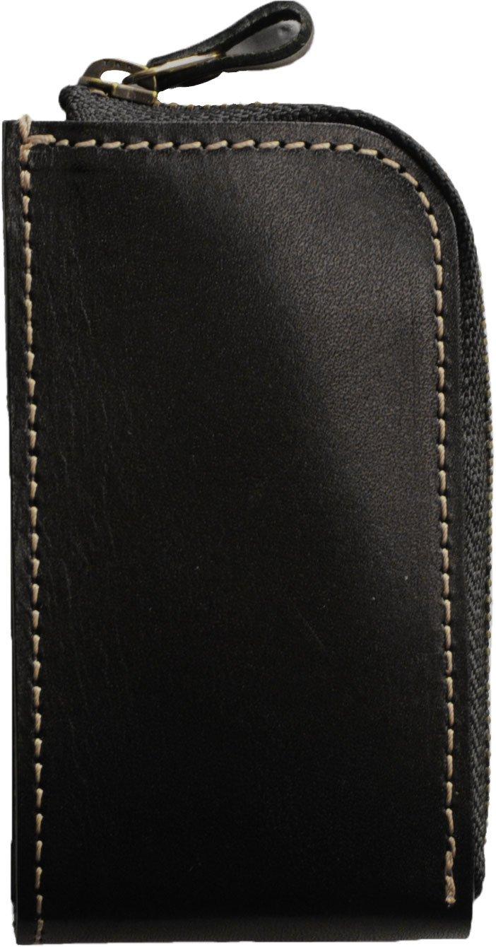 [ネコポスで発送] [ Jamale ] 栃木レザー 本 革 キーケース 日本製 牛革 B012S2WVFO ブラック ブラック