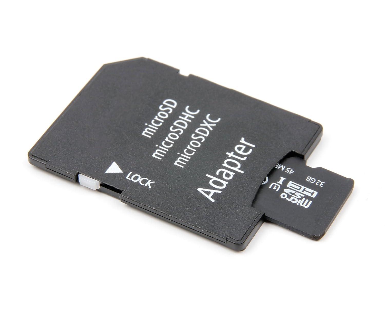 Adaptateur Micro Carte Inclus Smartphone Duragadget Carte m/émoire TF 64GB pour Samsung Galaxy J6 et J6 Plus//SM-J600F // 2018