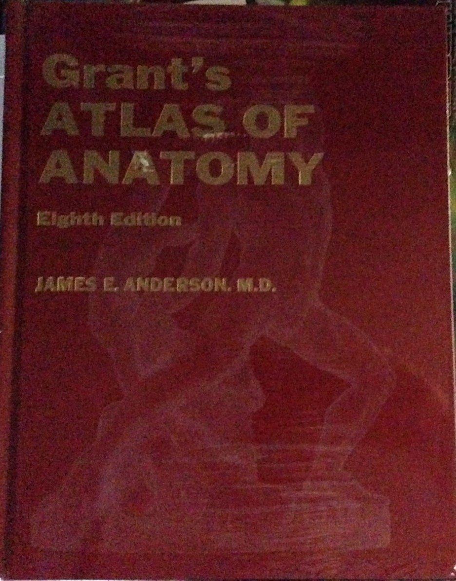 Atlas of Anatomy: Amazon.co.uk: J.C.Boileau Grant, James E. Anderson ...