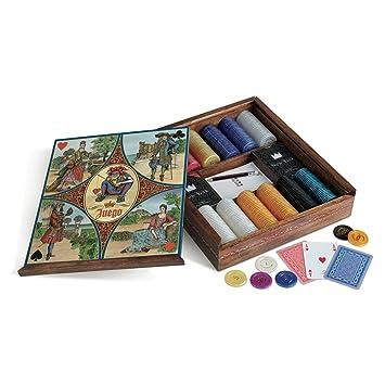 Juego - Royale La Corte Poker Set, mesa (ITA Toys JU00215): Amazon ...