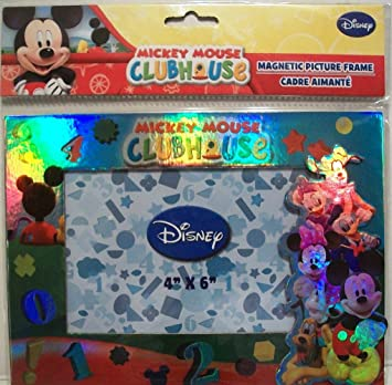 Amazoncom 1 X Mickey Mouse Clubhouse Magnetic Picture Frame 4x6