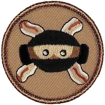 Amazon.com: Monkey Bacon Ninja Patrol Patch - 2