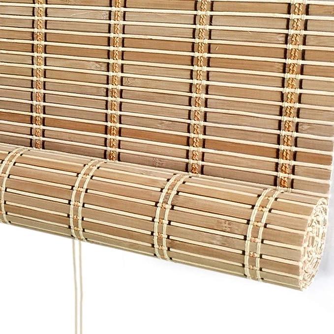 Estor Enrollable Exterior para Patio/toldo/Ventana/pergola/cenador, filtrado de luz al Aire Libre, Pantalla Enrollable, 85 cm/105 cm/125 cm/145 cm de Ancho: Amazon.es: Hogar