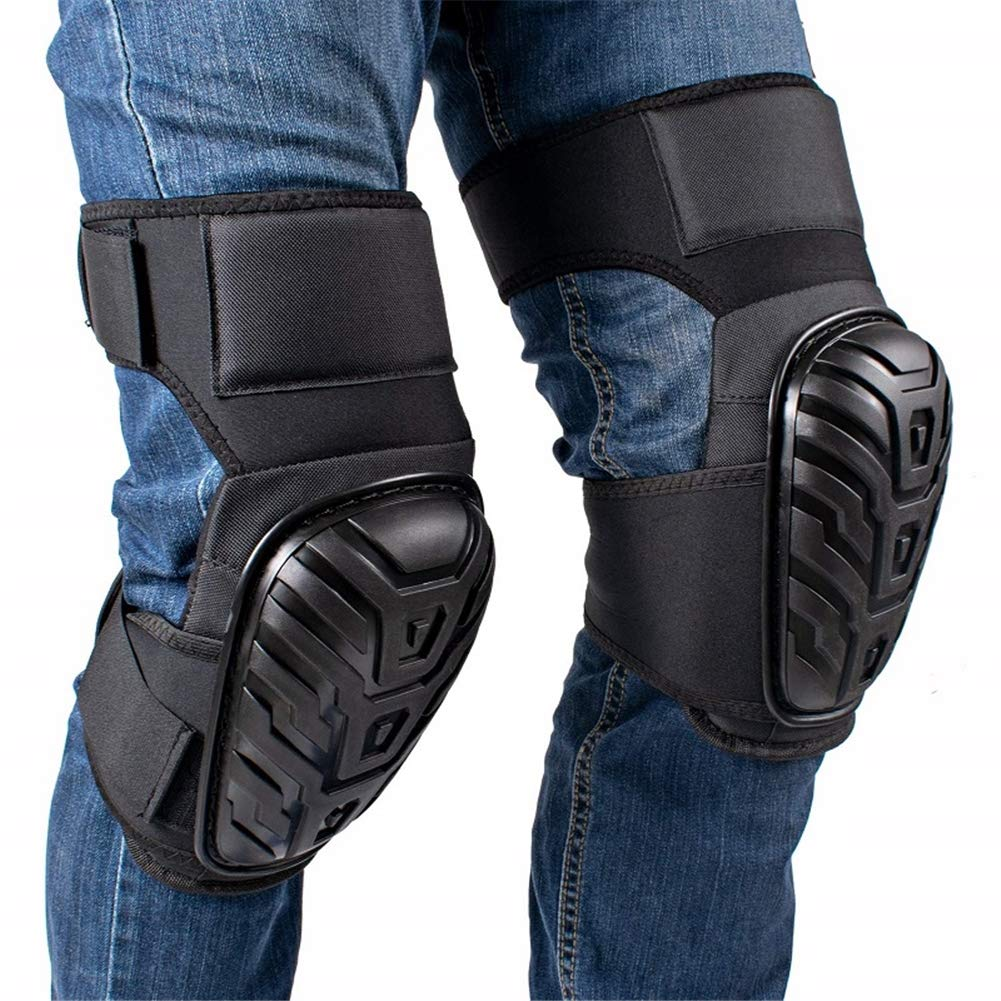 2 Pair Heavy Duty Knee Pads, for Cleaning Flooring and Garden, for Work, Construction Gel Knee Pads Tools