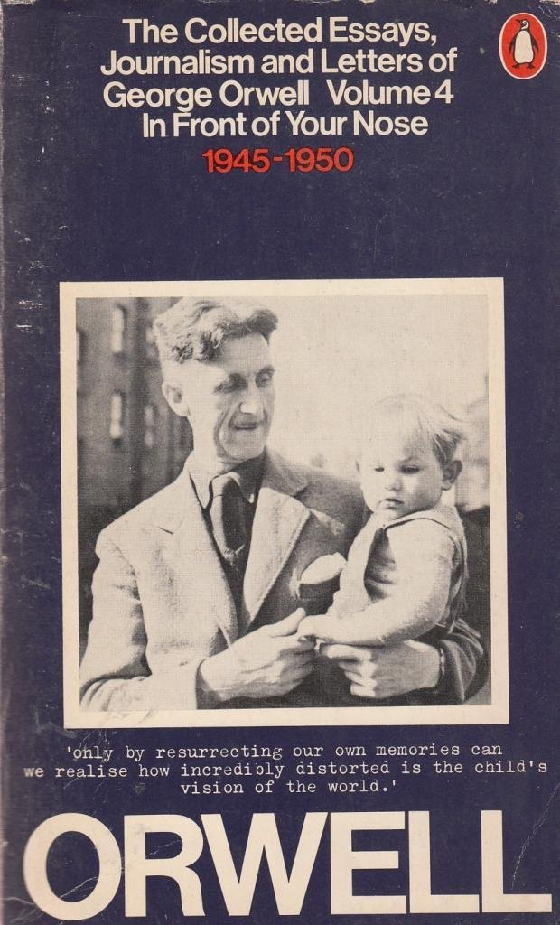 The Collected Essays, Journalism and Letters, Volume 4 — George Orwell