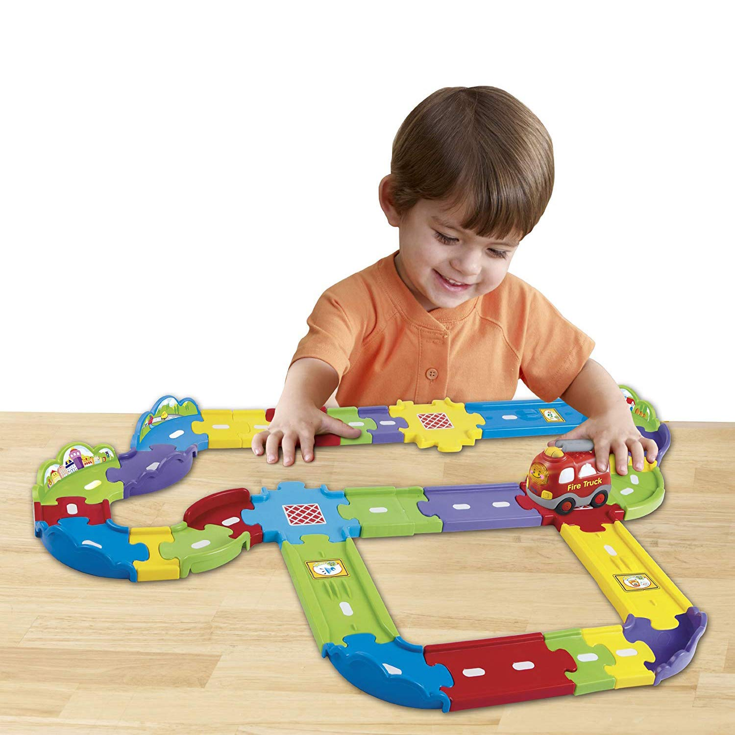 VTech Go! Go! Smart Wheels Deluxe Track Playset by VTech (Image #2)
