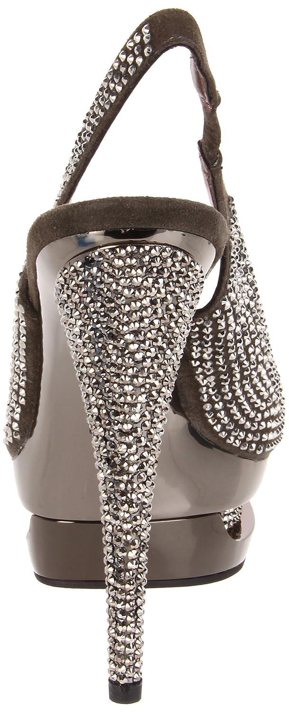 70e28d471b6bb Pleaser Women's Fascinate-654DM/DGYS/M Platform Sandal