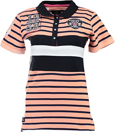 Geographical Norway KASLI SS Lady Polo, Naranja (Coral Coral ...