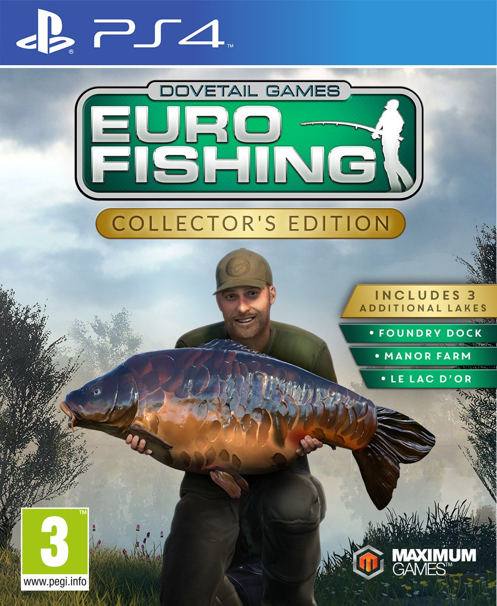 Euro Fishing Collector's Edition (PS4): Amazon co uk: PC