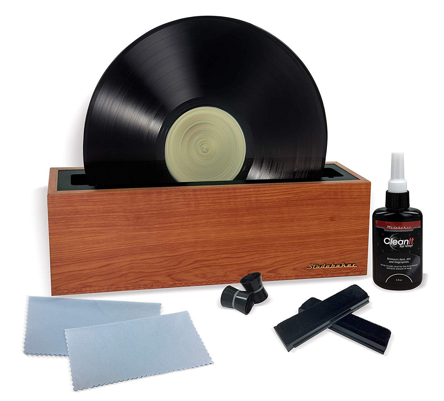 Vinyl Record Cleaning Machine Complete Album Spin Cleaner