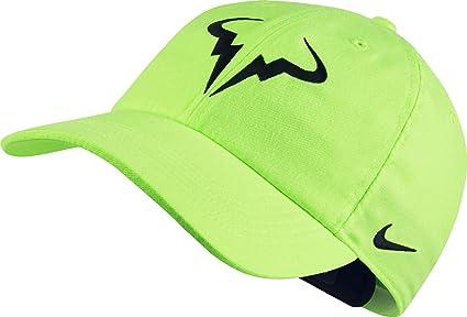 d45002b8b5e Amazon.com  Nike Men s Rafa Tennis DRI-FIT Cap Adjustable OSFA ...